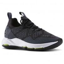 Reebok CloudRide LS DMX Outdoor Shoes Womens Black/Stonewash/White (283KBGNZ)