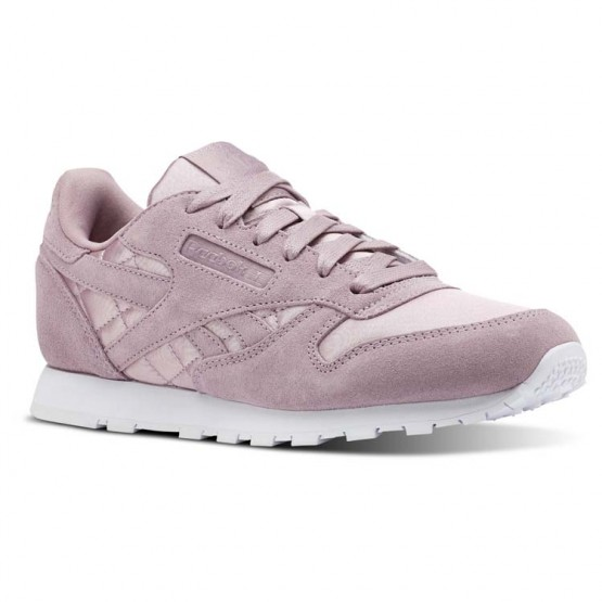Reebok Classic Leather Shoes For Girls White (291FHTEM)