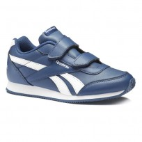 Reebok Royal Classic Jogger Shoes For Kids Blue/White (292BUHCZ)