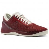Reebok CrossFit Nano Shoes Womens Primal Red/Urban Maroon/Chalk/Black (299JMRWH)