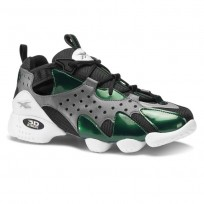 Reebok 3D OP. Shoes Mens Og-True Grey/Opus Green/Black/White (300IMJPN)