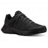 Reebok Astroride Trail Walking Shoes For Women Black/Grey (301ORAQC)