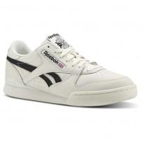 Reebok Phase 1 Pro Shoes Mens Vintage - Chalk/Black (302RFLVX)