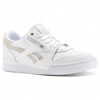 Reebok Phase 1 Pro Shoes Mens Mc-White/Marble (307OYUCQ)