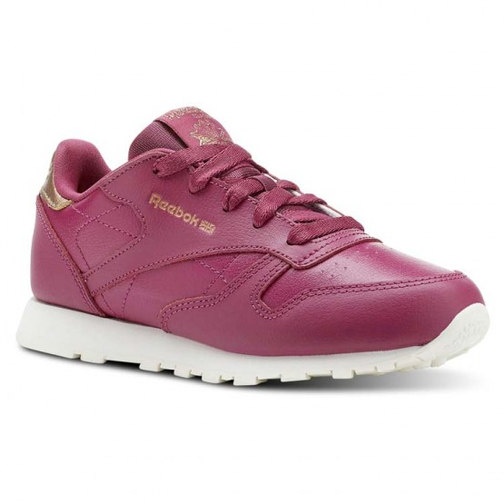 Reebok Classic Leather Shoes For Girls Deep Red (313NTVHB)