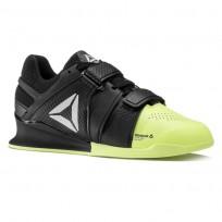 Reebok Legacy Lifter Shoes Womens Black/Electric Flash/Black/White (319QBZAN)