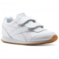 Reebok Royal Classic Jogger Shoes For Kids White/Grey (320FBUER)