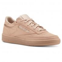 Reebok Club C 85 Schuhe Damen Beige/Weiß (320KLITF)