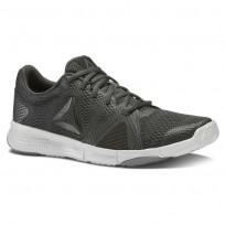 Reebok Flexile Training Shoes Womens Coal/Black/Skull Grey/Alloy (329CUBFN)