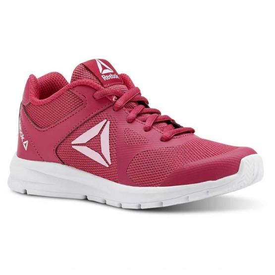 Reebok Rush Runner Running Shoes Girls Rugged Rose/Light Pink (329NKAOG)