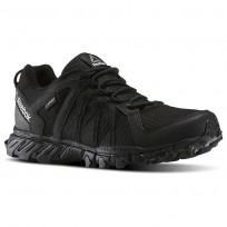 Reebok Trailgrip Walking Shoes For Men Black/Navy (332JKZVB)
