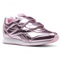 Reebok Royal Classic Jogger Shoes For Girls Metallic Light Pink/White (339ZSVDQ)