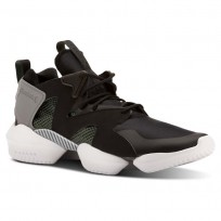 Reebok 3D OP. Shoes Mens Legacy-Black/Chalk Green/Foggy Grey/White (340ZUJWC)