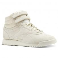 Reebok F/S HI RIPPLE Shoes Womens Chalk (342FSXBC)