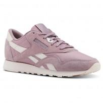 Reebok Classic Nylon Shoes Womens Seasonal-Infused Lilac/Pale Pink (344JBXLA)
