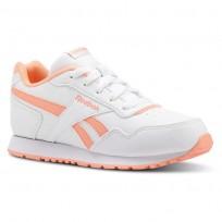 Reebok Royal Glide Shoes Girls Sh-White/Digital Pink (355ONVWB)