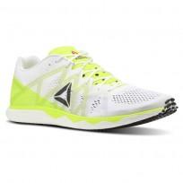 Reebok Floatride Run Running Shoes For Men White/Yellow/Black/Grey (359AOSIJ)