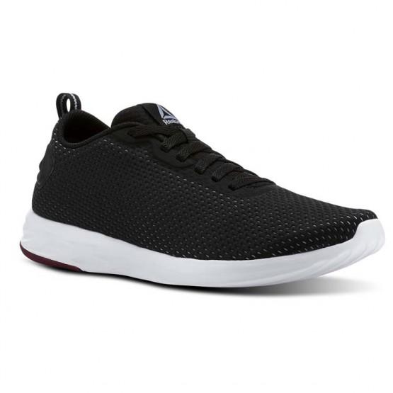 Reebok ASTRO WALK 60 Walking Shoes Mens Black/Rustic Wine/Cool Shadow/White (388EPRNF)