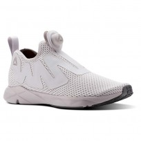 Reebok Pump Supreme Lifestyle Shoes Mens Reveal-Lavender Luck/Rustic Wine/Ash Grey (391WPZQE)