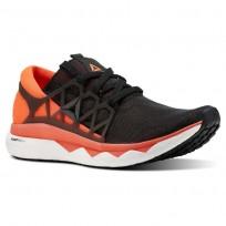 Reebok Floatride Run Running Shoes Mens Black/Atomic Red/White/Ash Grey (397PLKBO)