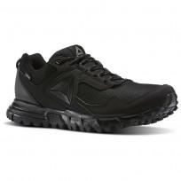 Reebok Sawcut Walking Shoes For Men Black/Grey (401IPCZK)