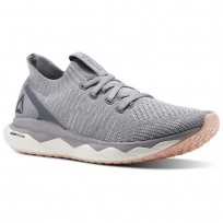 Reebok Floatride RS ULTK Lifestyle Shoes Womens Cloud Grey/Cool Shadow/Porcelain/Desert Dust (402HLGFD)
