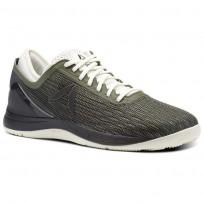 Reebok CrossFit Nano Shoes Womens Hunter Green/Coal/Chalk (403VTOWJ)