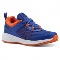 Reebok Road Supreme Running Shoes For Boys Royal/Light Orange/White (404IPJHK)