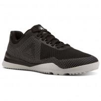 Reebok Froning 1 Shoes Mens Black/White/Skull Grey (406NIZFC)