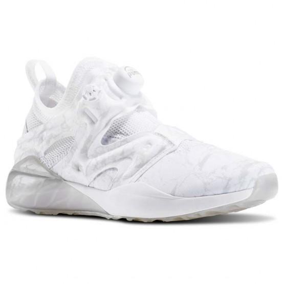 Reebok The Pump Izarre Studio Shoes For Women White/Grey/Grey/Grey (410ESZPA)