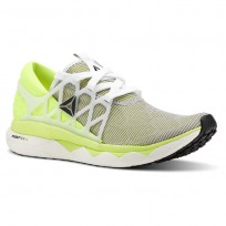 Reebok Floatride Run Running Shoes Womens Solar Yellow/Black (412ONCTA)