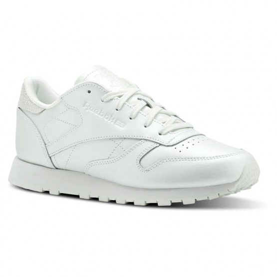 Reebok Classic Leather Shoes Womens Mid-Opal (413RUHYN)