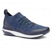 Reebok Ultra Circuit TR ULTK LM Studio Shoes Mens Collegiate Navy/Washed Blue/White (418GFOXZ)