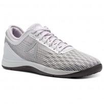 Reebok CrossFit Nano Shoes Womens Grey/White/Stark Grey/Quartz/Smoky Volcano (418ZFGBD)