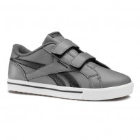 Reebok Royal Comp Shoes For Boys Grey/Black (421ZECYD)