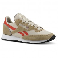 Reebok Classic 83 Shoes Mens Retro-Super Neutral/Parchment/Carotene/White (430TEAPY)