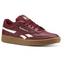 Reebok Revenge Plus Shoes Mens Trc-Rustic Wine/Chalk/Gum (430XIOSC)