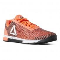 Reebok Speed Training Shoes For Men Black/White (434KOFJX)
