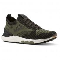 Reebok Floatride 6000 Lifestyle Shoes Mens Hunter Green/Black/Coal/White (435HYPCI)