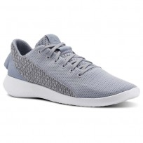 Reebok Ardara Walking Shoes For Women Grey/White/White (439DVIYU)
