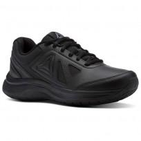 Reebok Walk Walking Shoes For Women Black (441KCXNU)