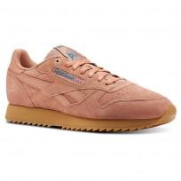 Reebok Classic Leather Schuhe Herren Aprikose/Türkis (443ASKNM)