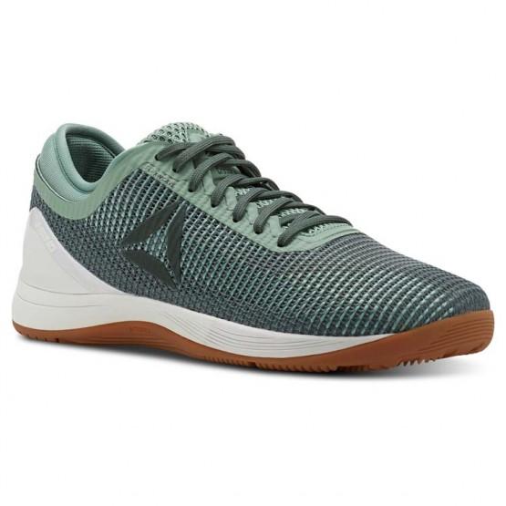 Reebok CrossFit Nano Shoes Womens Industrial Green/Chalk Green/Chalk/Gum (450KXPIO)