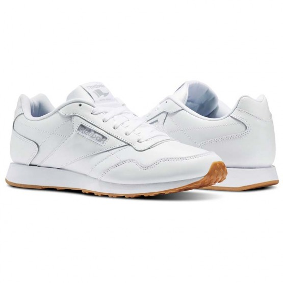 Reebok Royal Shoes Mens White/Steel/Gum (456DOCRK)