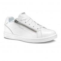 Reebok Royal Complete Shoes For Girls White/Silver (461FJBKP)