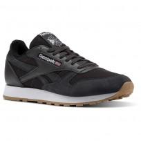 Reebok Classic Leather Schuhe Herren Weiß (461PTAJM)