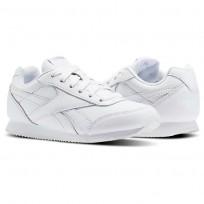 Reebok Royal Classic Jogger Shoes For Kids White (466SZQHO)
