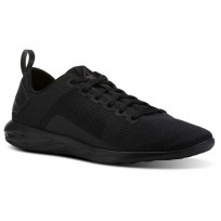 Reebok Astroride Walking Shoes Mens Black/Ash Grey (470JPXBY)