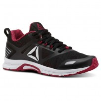 Reebok Ahary Runner Running Shoes Womens White/Black/Rugged Rose (471WICJK)