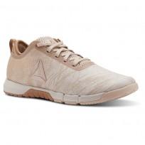 Reebok Speed Training Shoes For Women Beige/Copper (471ZQGLI)